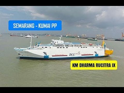 Kapal Semarang Pontianak KM Dharma Rucitra IX September 2019