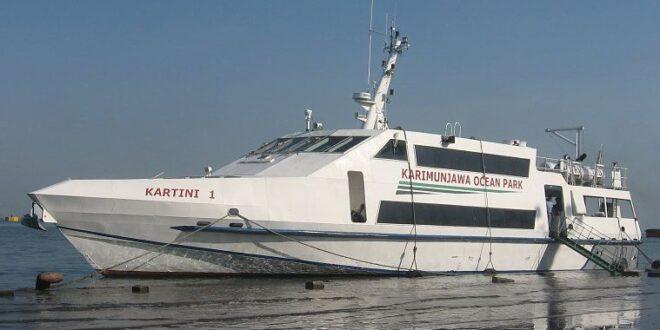 Selamat Tinggal KMC Kartini1 Rute Semarang-Karimun Jawa